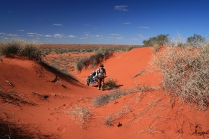Simpson Desert crossing 2008
